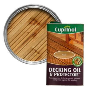 View Cuprinol Uv Guard Natural Matt Decking Oil 5L details