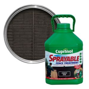 View Cuprinol One Coat Sprayable Forest Oak Shed & Fence Treatment 5L details