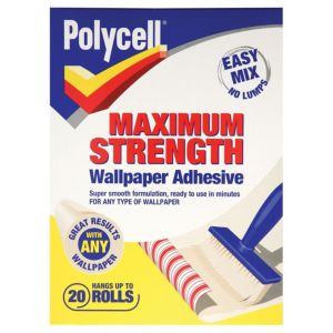 View Polycell Max Strength Wallpaper Adhesive details