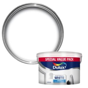 View Dulux Pure Brilliant White Matt Emulsion Paint 7.5L details