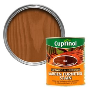 View Cuprinol Softwood & Hardwood Oak Garden Furniture Stain 750ml details