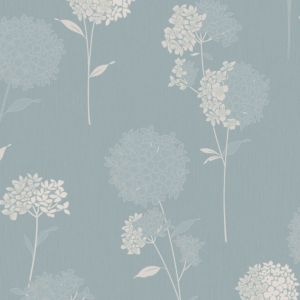 View Dulux Paste The Wall Annabelle Clear & Duck Egg Blue Wallpaper details