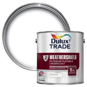 View Dulux Trade Weathershield White Matt Primer & Undercoat 2.5L details