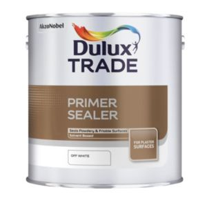 View Dulux Trade Off White Matt Primer Sealer 2.5L details