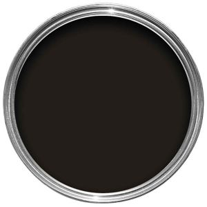 Image of Dulux Trade Black Gloss Wood & metal paint 5L