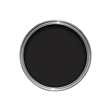 Dulux Made By Me Interior Exterior Classic Black Satin Multipurpose Paint 250ml Departments