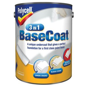 View Polycell 3 In 1 White Matt Basecoat 5L details