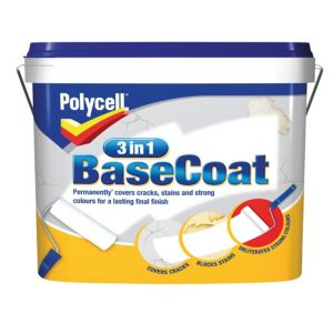 View Polycell 3 In 1 White Matt Basecoat 7L details