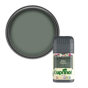 Photo of Cuprinol garden shades wild thyme matt wood paint 0.05l