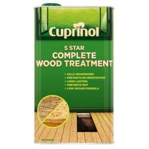 Image of Cuprinol 5 star Complete wood treatment 5L