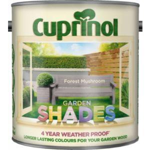 Cuprinol Garden Shades Forest Mushroom Matt Wood Paint 2.5L