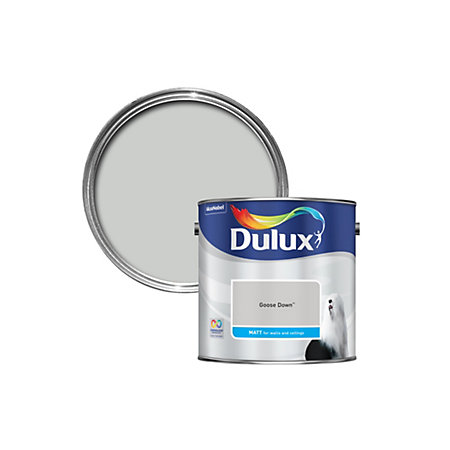 Dulux Goose Down Matt Emulsion Paint 2 5l Departments