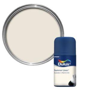 Dulux Standard Summer Linen Matt Paint Tester Pot 50ml Tester Pot