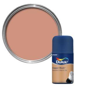 Dulux Standard Copper Blush Matt Paint Tester Pot 50ml Tester Pot