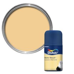 Dulux Standard Butter Biscuit Matt Paint Tester Pot 50ml Tester Pot
