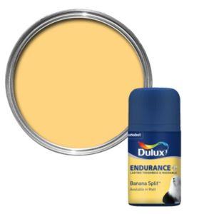 Dulux Endurance Banana Split Matt Paint Tester Pot 50ml Tester Pot