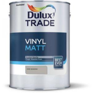 Image of Dulux Trade Chic shadow Matt Vinyl paint 5L