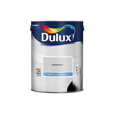 Dulux Goose Down Matt Emulsion Paint 5l Departments