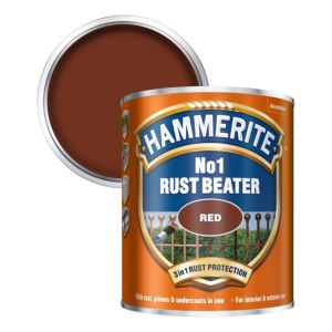 Image of Hammerite Rust beater Red Metal Primer 0.75L