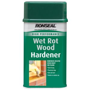 View Ronseal High Performance Clear Wet Rot Wood Hardener 250ml details