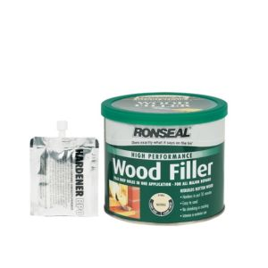 View Ronseal High Performance Natural Wood Filler 1kg details