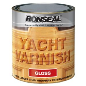 View Ronseal Yacht Gloss Outdoor Varnish 2.5L details