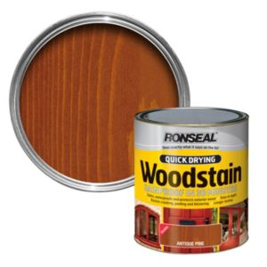 View Ronseal Quick Dry Antique Pine Gloss Woodstain 750ml details