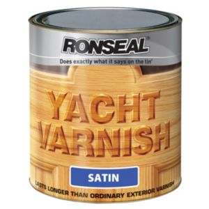 View Ronseal Yacht Satin Outdoor Varnish 1L details