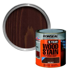 View Ronseal 5 Year Walnut Woodstain 250ml details