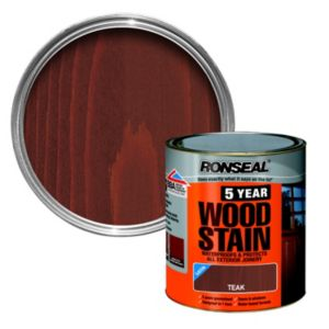 View Ronseal 5 Year Teak Woodstain 250ml details