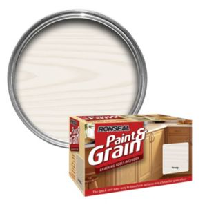 View Ronseal Paint & Grain Ivory Special Effect Paint 1.5L details