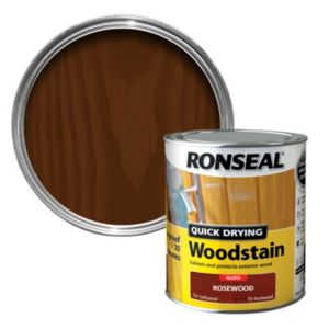 View Ronseal Quick Dry Rosewood Gloss Woodstain 750ml details