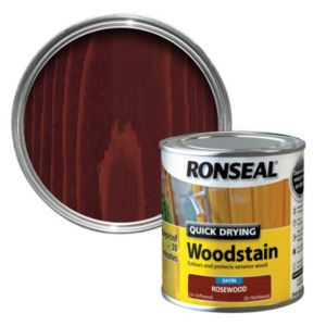 View Ronseal Quick Dry Rosewood Satin Woodstain 2.5L details