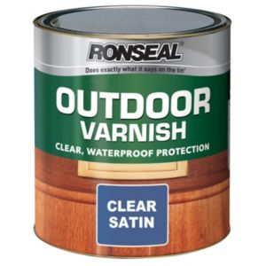 View Ronseal Satin Outdoor Varnish 250ml details