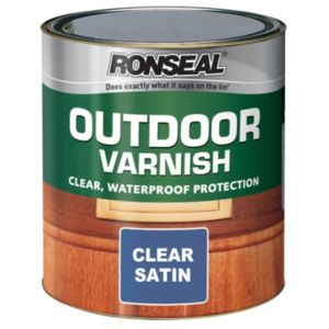 View Ronseal Satin Outdoor Varnish 2.5L details