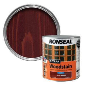 View Ronseal 5 Year Rosewood Woodstain 2.5L details