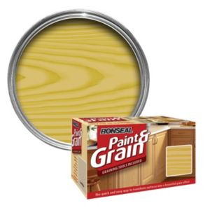 View Ronseal Paint & Grain Antique Pine Special Effect Paint 1.5L details