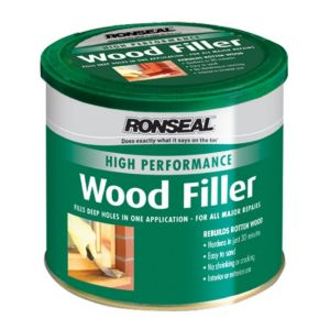 View Ronseal High Performance White Wood Filler 550G details