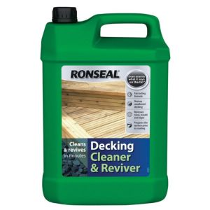 View Ronseal Decking Cleaner & Reviver 5L details