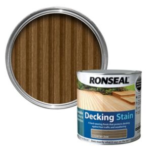 View Ronseal Country Oak Matt Decking Stain 2.5L details