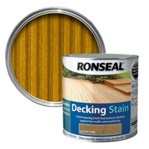 View Ronseal Rustic Pine Matt Decking Stain 2.5L details