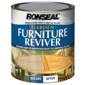 View Ronseal Clear Garden Furniture Reviver 1L Tin details