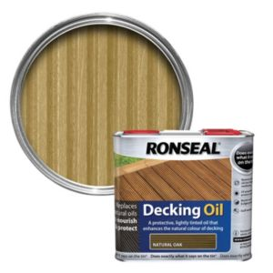 View Ronseal Natural Oak Decking Oil 2.5L details