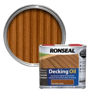 View Ronseal Natural Cedar Decking Oil 2.5L details