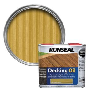 View Ronseal Natural Pine Decking Oil 2.5L details