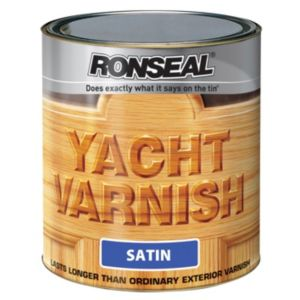 View Ronseal Yacht Satin Outdoor Varnish 2.5L details