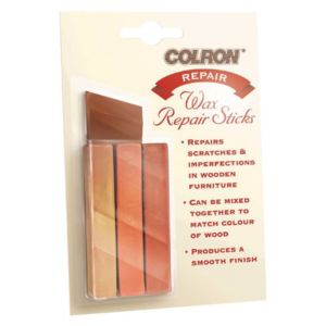 View Colron Orange, Red & Yellow Wax Repair Sticks details