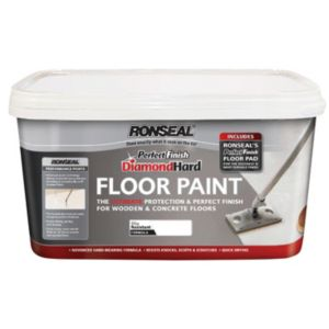 View Ronseal Perfect Finish Diamond Hard White Satin Floor Paint 2.5L details