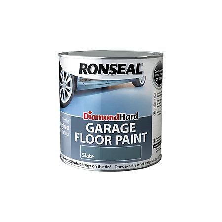 Paint Garage Floor Diamond Hard