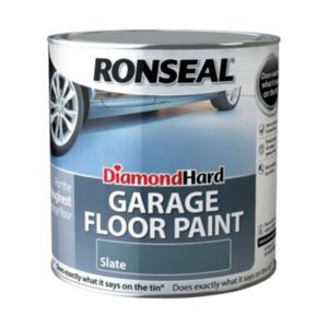 View Ronseal Diamond Hard Slate Satin Garage Floor Paint 2.5L details